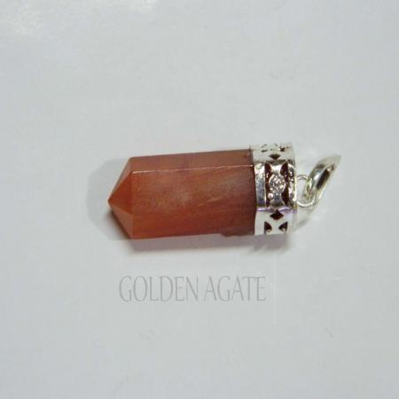 Red Carnelian Cap Pencil Pendant