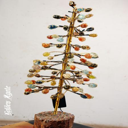 Multi color Tumble Tree